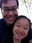 Me and Julia at her school class field trip to the zoo.
